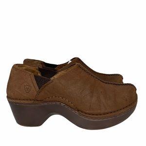 Ariat Shoes | Women's Avalon Nubuck Clog Size 7.5
